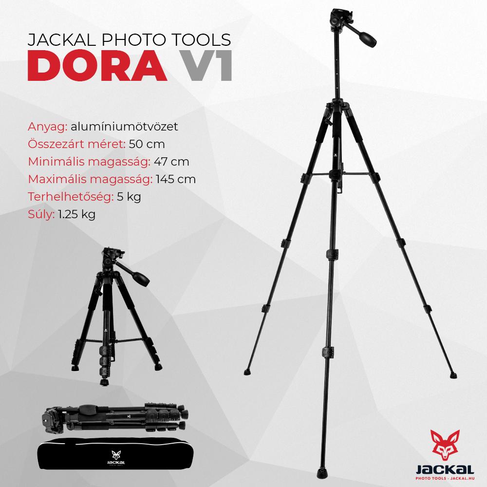 Jackal DORA V1 trepied foto 145cm