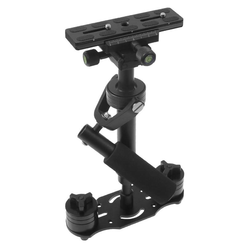 Stabilizator pentru DSLR si camere video,40cm,negru