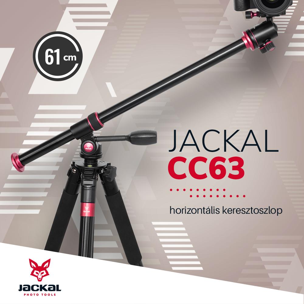 Jackal CC63 bara orizontala pentru trepied foto