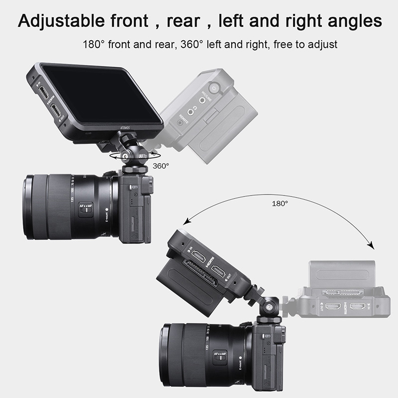 Suport ULANZI UURig R015 orientabil 360grade, pentru monitor video