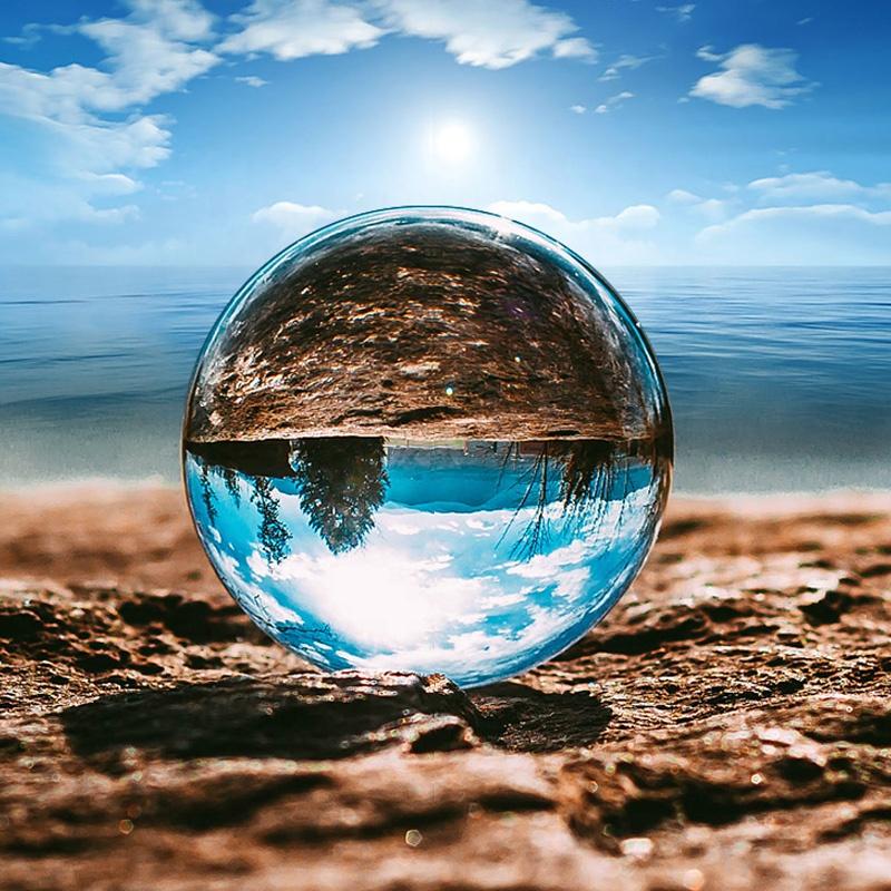 Sfera din cristal 15cm pentru fotografii