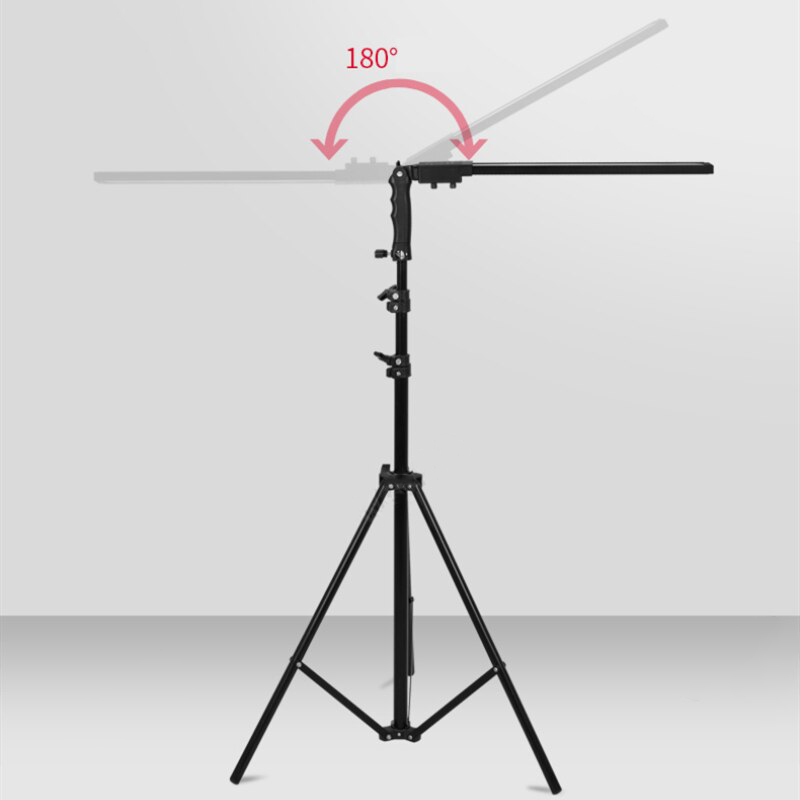 Lampa studio LED 2x24W,3200-5500K,cu stativ  2m