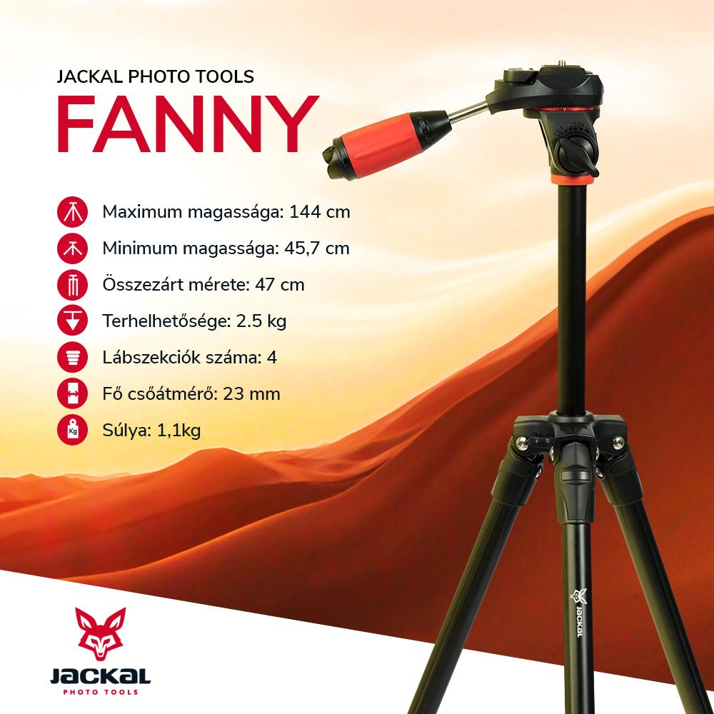 Jackal Fanny trepied foto/video