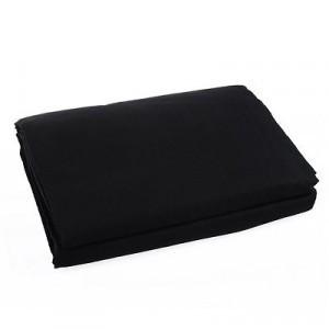Fundal bumbac 3x6m negru