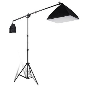 Kit Softbox 135W cu stativ 3m
