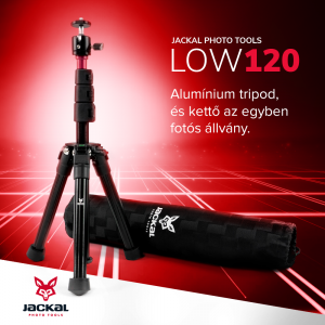 Jackal LOW120 trepied foto