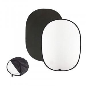 Fundal Pliabil 2in1, 150x200cm negru/alb