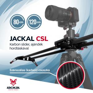 Jackal CSL slider din fibra de carbon