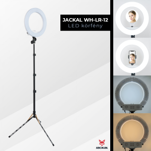 Jackal WH-LR-12 lampa circulara LED Ring Light