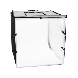 Cub foto (HJLT301) 60cm,cu 3 fundaluri, 2x30W LED