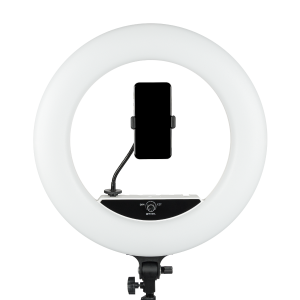 Jackal NWLR 45cm lampa circulara LED, ring light,alb,cu stativ