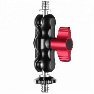 Magic Arm 2x 1/4 aluminiu,negru-rosu