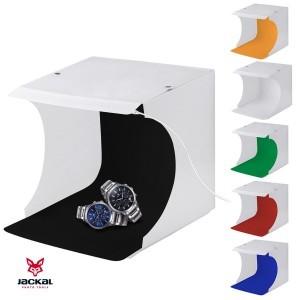 Mini studio foto LED,cu 6 fundaluri