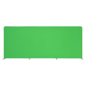 Fundal Chroma Key, Green Screen, 2.5x6m verde
