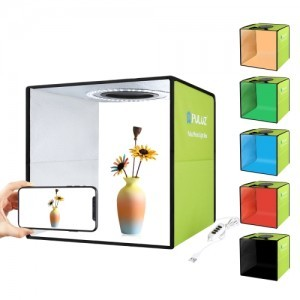 Cub foto PULUZ 30x30cm cu 6 fundaluri