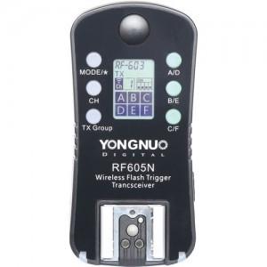 Yongnuo RF-605N transceiver radio wireless pentru Nikon