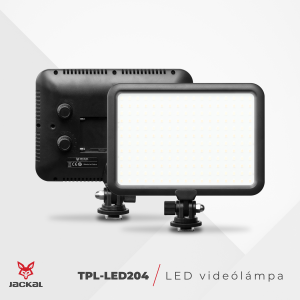 Jackal TPL-LED204 lampa video LED 3200-5600K